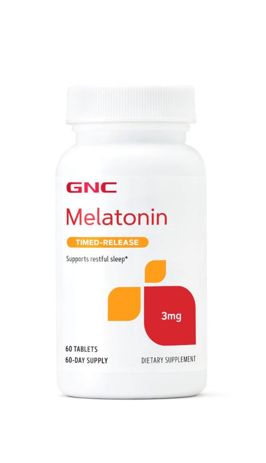 Melatonin 3mg  (Timed-release)
