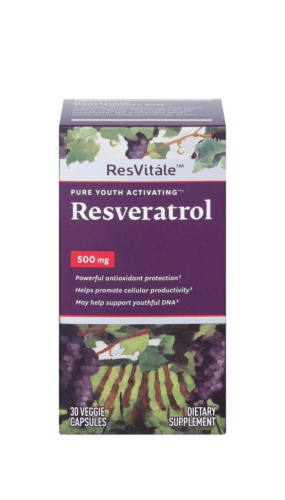 Resvitale Resveratrol 500mg Sr Gnc Live Well