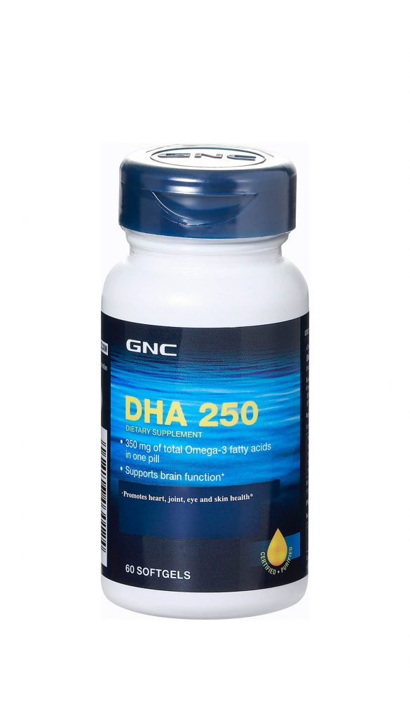 Dha 250 Gnc Live Well